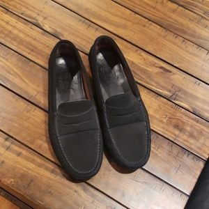 Mens tods driving loafer